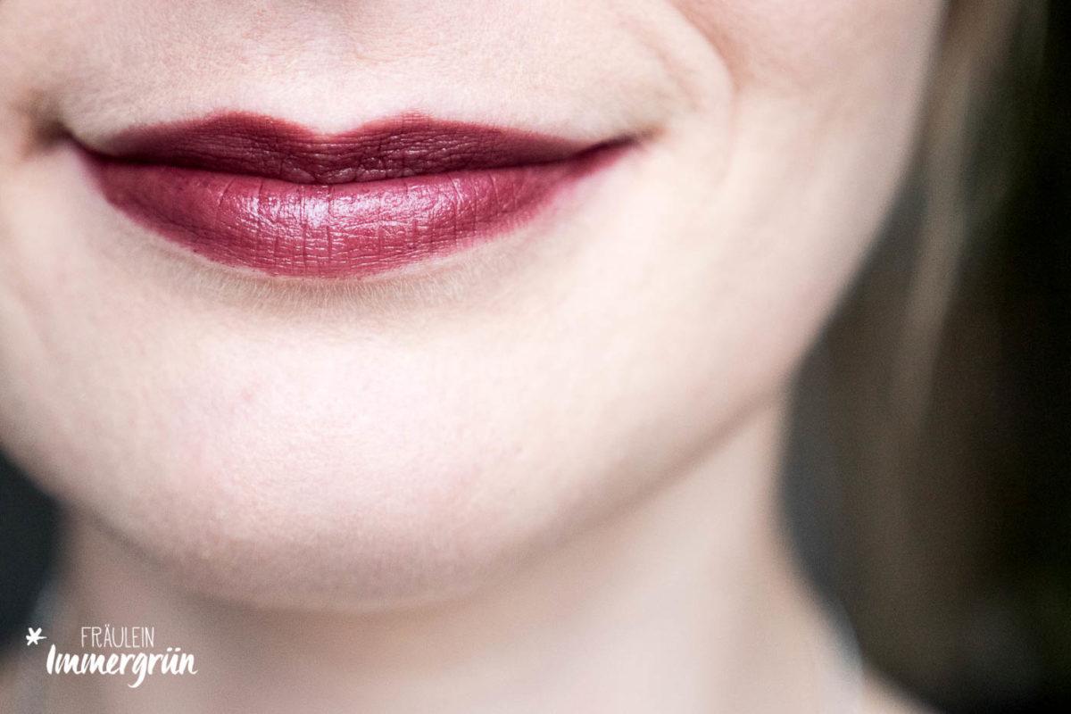Zao – natürliches Makeup, vegan: Lipstick 468 Plum