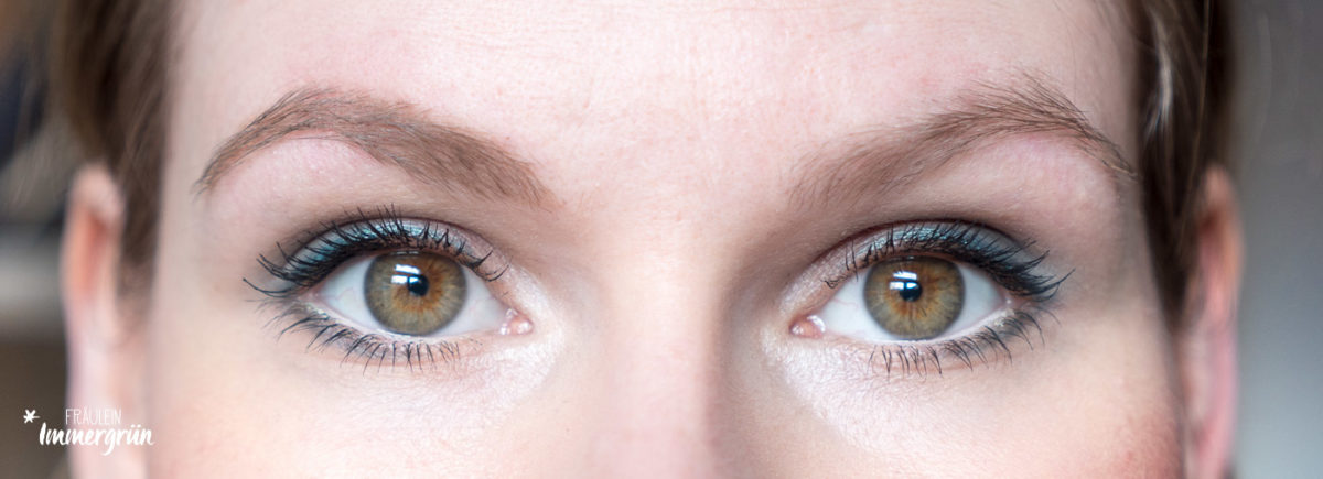 Augenbrauen in Form bringen mit Alverde und Terra Naturi (Naturkosmetik)