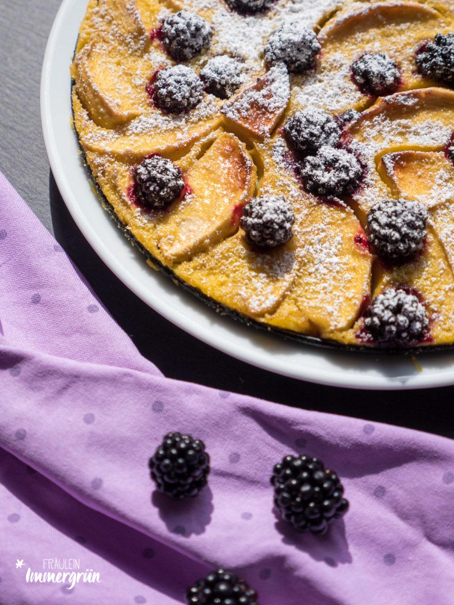 Rezept Brombeer-Apfel-Clafoutis