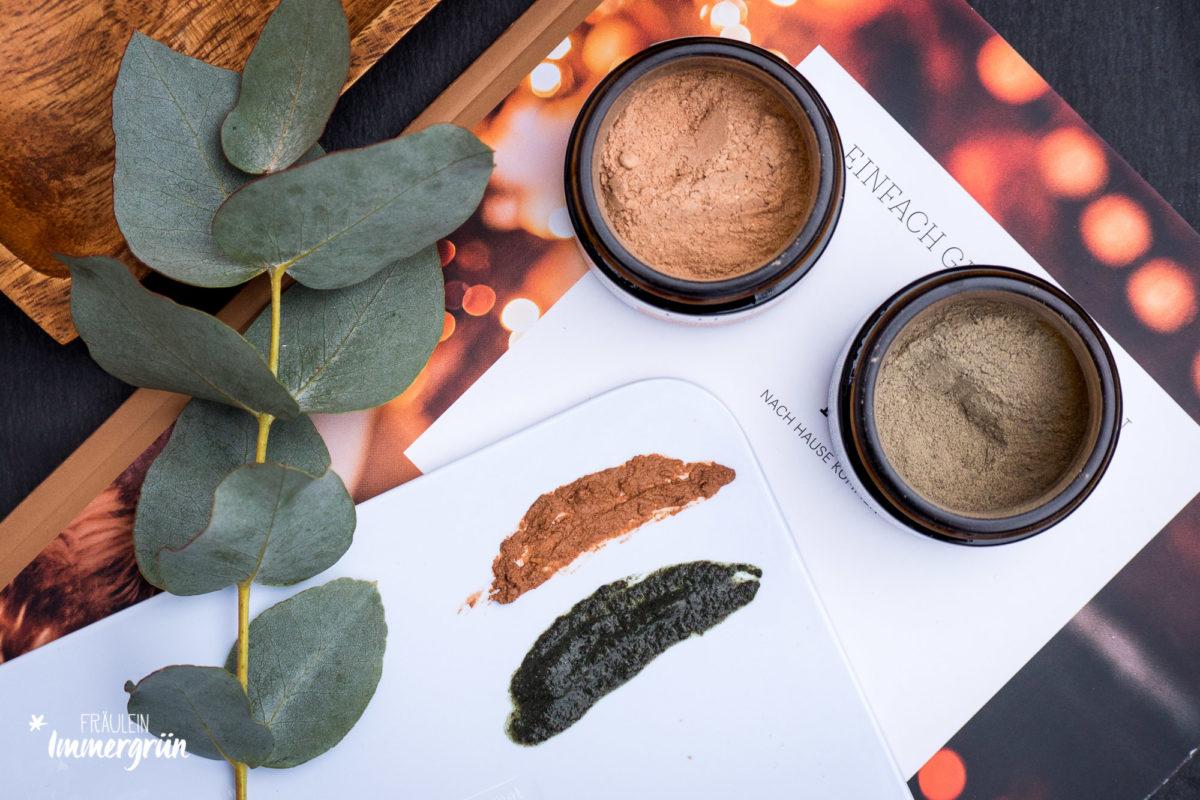 LILY Naturalcosmetics Facial Masks Seaweed und Skin Balance und Facial Serum Skin Balance