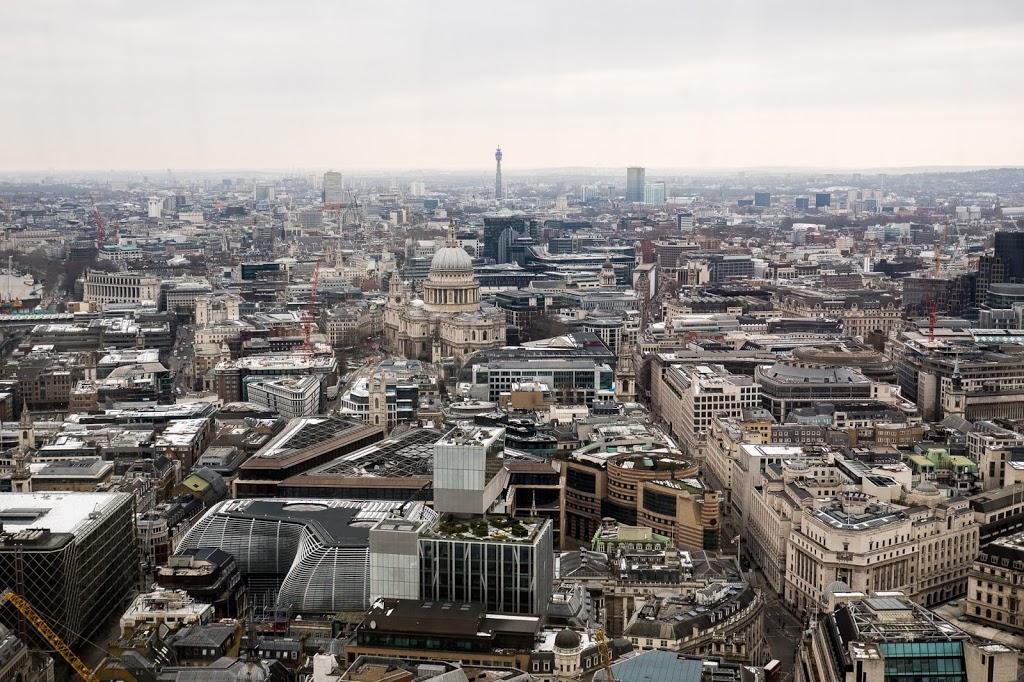London Skyline von Sky Garden London