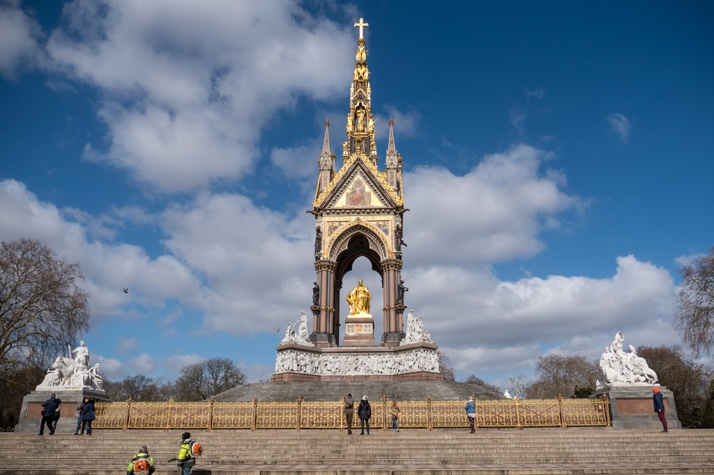 London The Albert Memorial