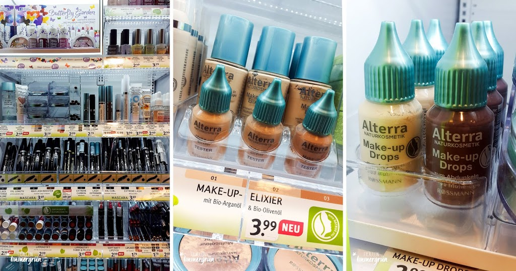 Naturkosmetik-Neuigkeiten aus der Drogerie – Alterra dekorative Kosmetik