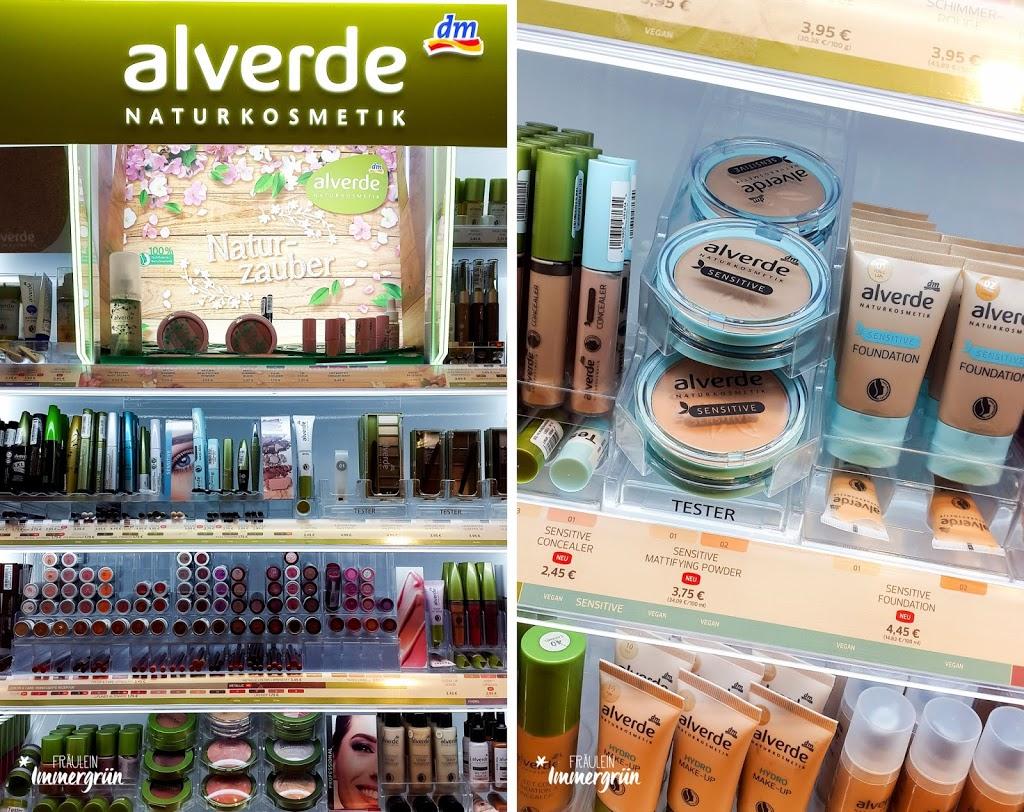 Naturkosmetik-Neuigkeiten aus der Drogerie – Alverde dekorative Kosmetik