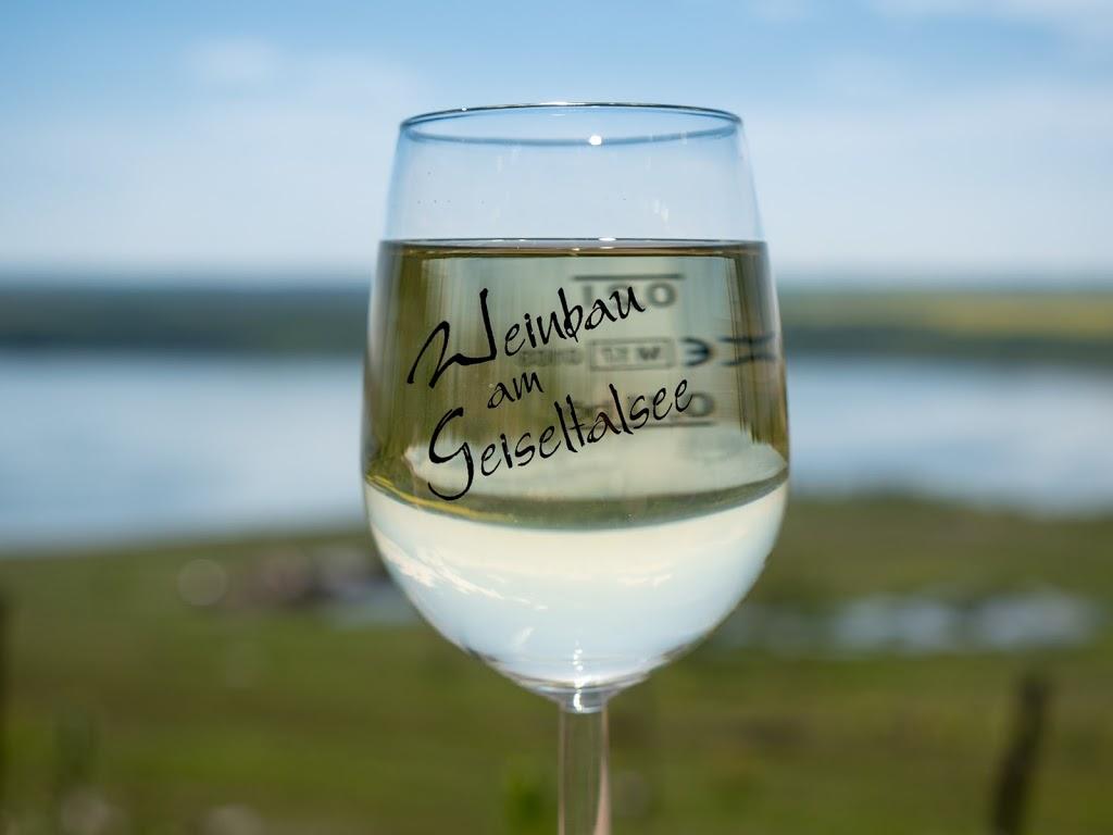 Weinbau am Geiseltalsee