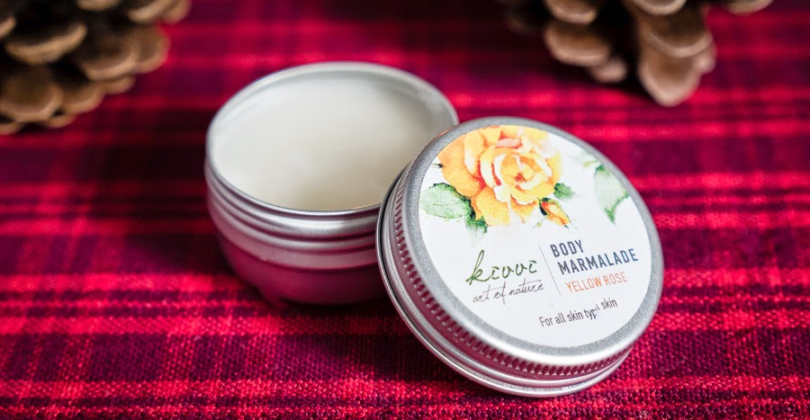 Kivvi Body Marmalade Yellow Rose