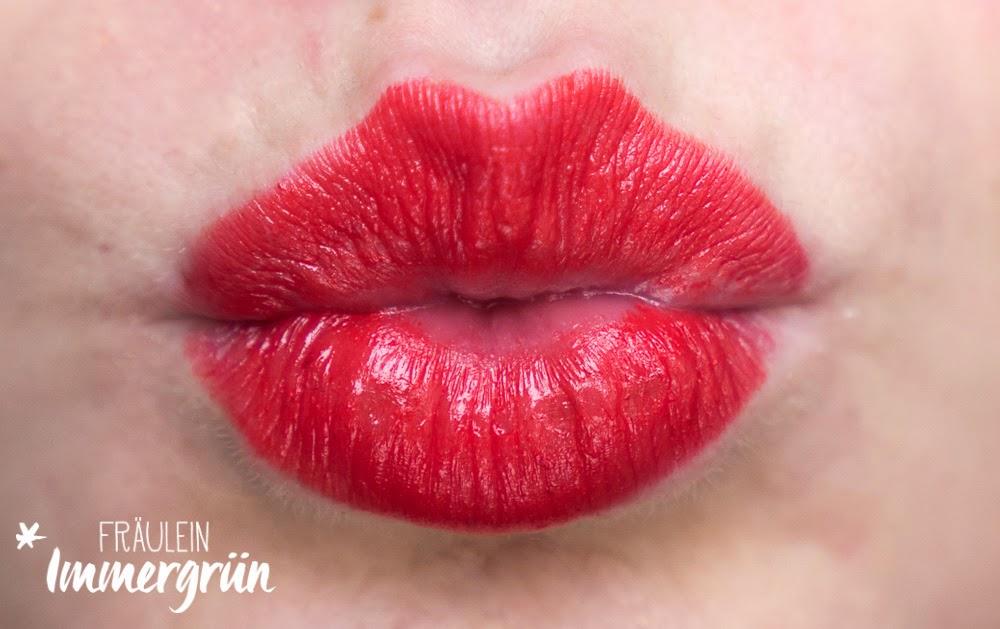 Annemarie Börlind Lippenstift Paris Red Swatches