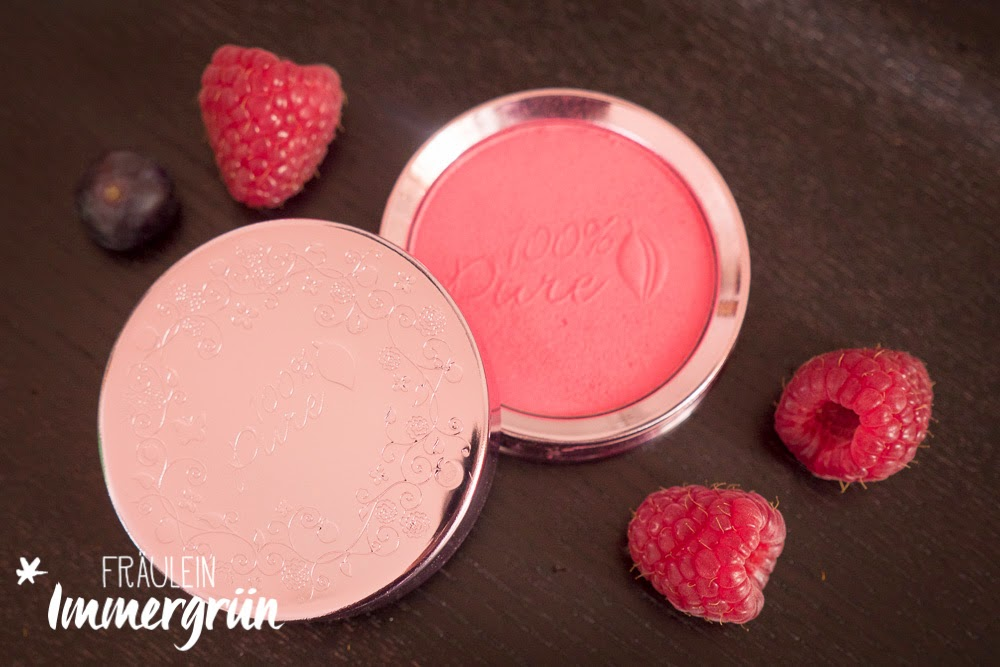 100% Pure Blush Rouge Plum