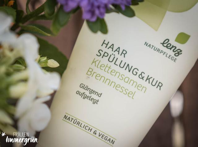 Lenz Naturpflege Spülung & Kur Klettensamen & Brennnessel