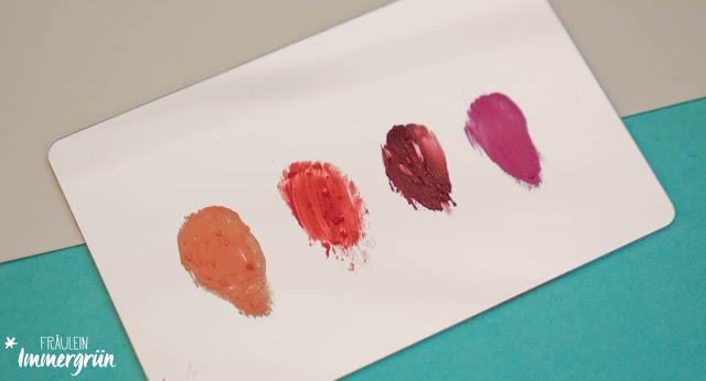 Ilia Lipsticks und Ilia Lipstick Crayons