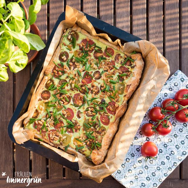 Vegetarische Tomatentarte
