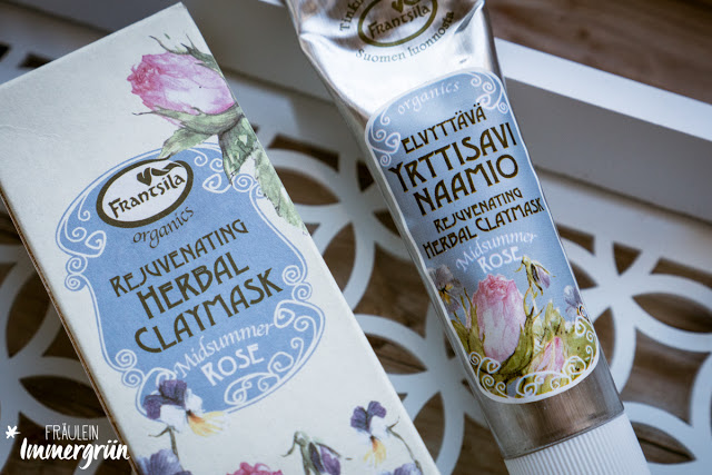 Frantsila Midsummer Rose Herbal Claymask