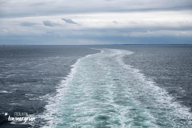 Auf dem Weg nach Norwegen – Fahrt durch die Ostsee