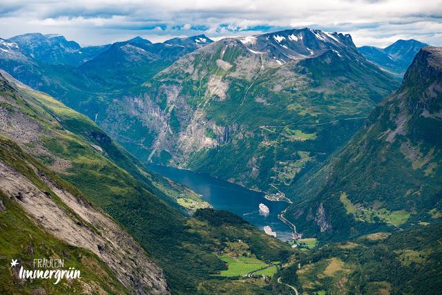 Norwegen: Geirangerfjord von Dalsnibba aus