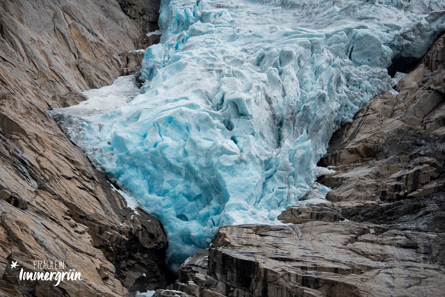 Norwegen: Gletscher in Briksdalsbreen