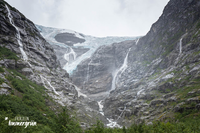 Norwegen: Gletscher in Kjenndalsbreen