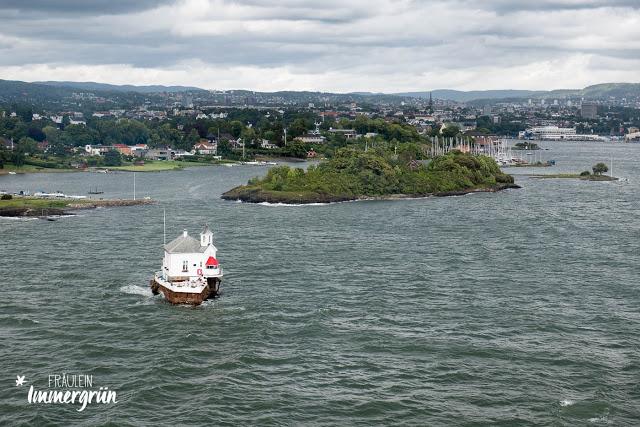 Rückweg von Norwegen mit der Fähre über den Oslofjord