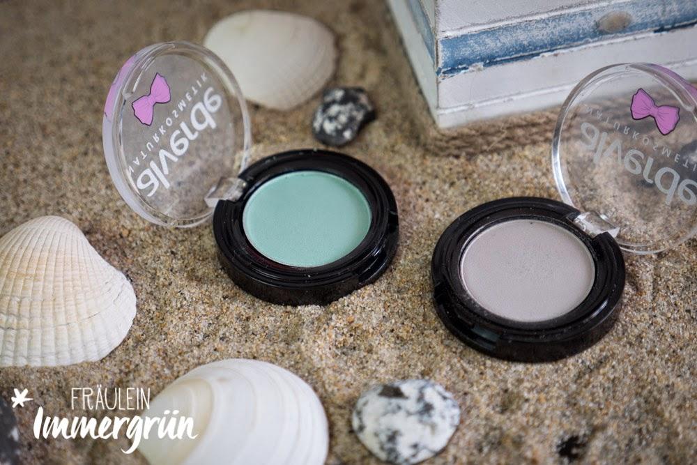 Alverde LE Fabulous Fifties Eyeshadow Light Grey, Beauty Green