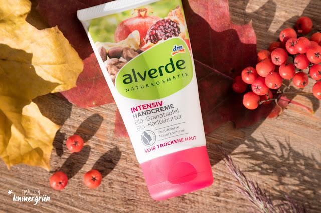 Alverde Intensiv Handcreme mit Bio-Granatapfel und Bio-Karitébutter
