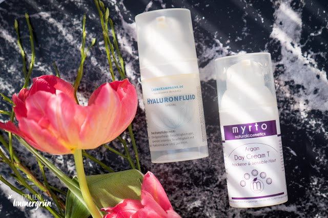 Cremekampagne Hyaluronfluid, Myrto Argan Day Cream