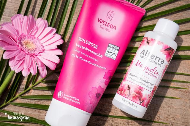 Weleda Verwöhndusche Wildrose | Alterra Nagellackentferner Magnolia Blossom