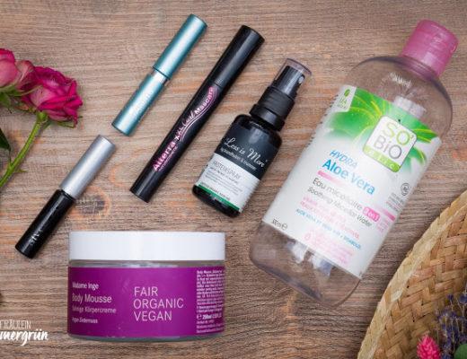 Aufgebrauchte Produkte August 2017 Naturkosmetik