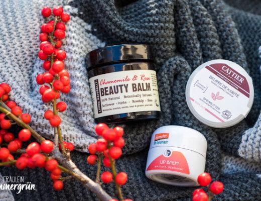Balms im Winter bei trockener Haut, Naturkosmetik