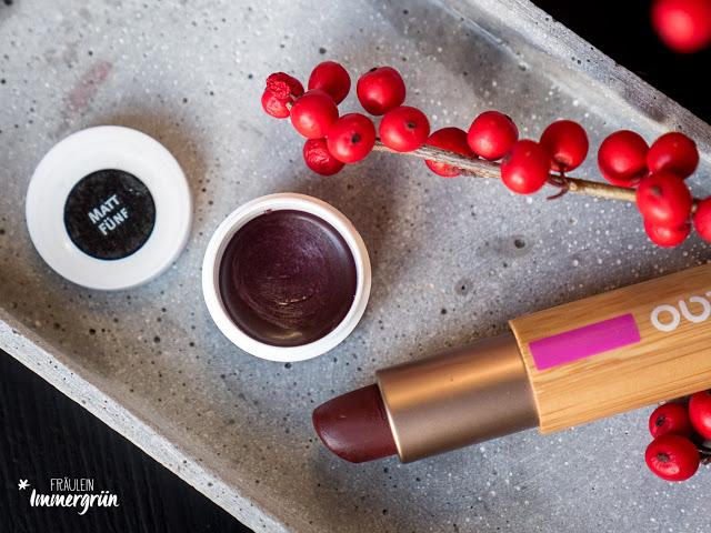 Lippenstift Cremekampagne Matt Fünf