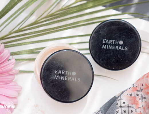 Satin Matte Foundation und Color Balancing Powder von Earth Minerals