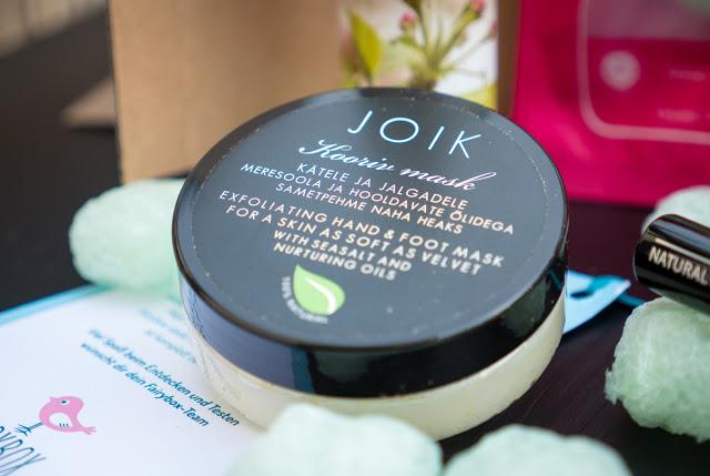 Fairy Box November – Joik Peelende Maske für Hände und Füße