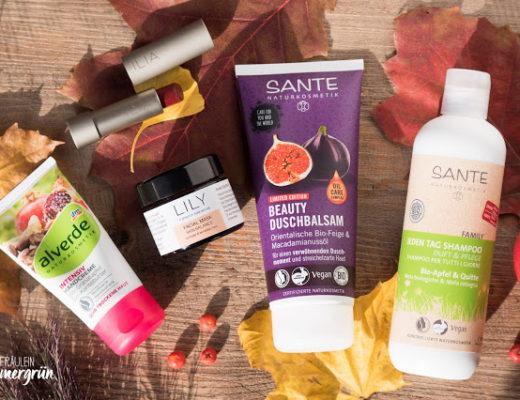 Naturkosmetik-Produkte für den Herbst