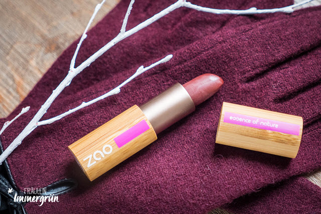Zao – Essence of Nature Matt Lipstick 468 Plum