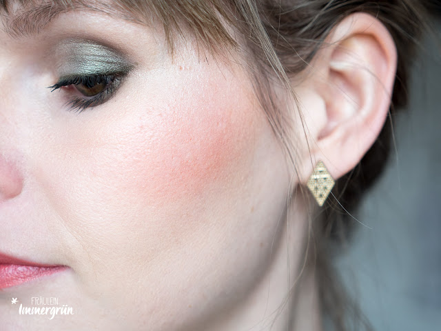 Alverde Serum Foundation Porcelain Beige, Alverde Contouring Kit Light, Hiro Mineral Blush From Fuchsia With Love