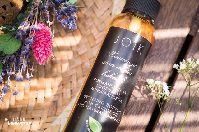 Joik Bronzing Bodyoil with Carrot Oil and Natural Minerals / Töntendes und schimmerndes Körperöl