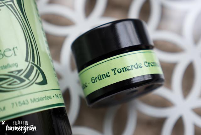 Maienfelser Naturkosmetik Grüne Tonerde Crememaske