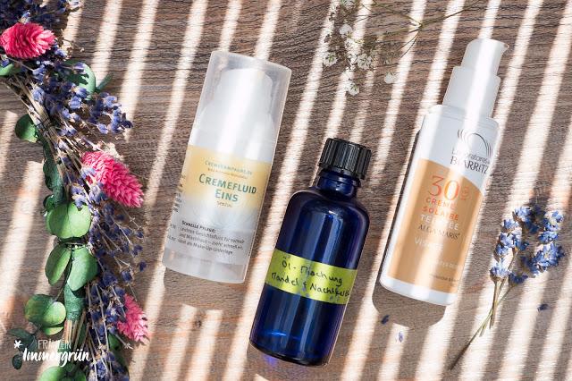 Quartalsfavoriten Naturkosmetik reizfreie Hautpflege