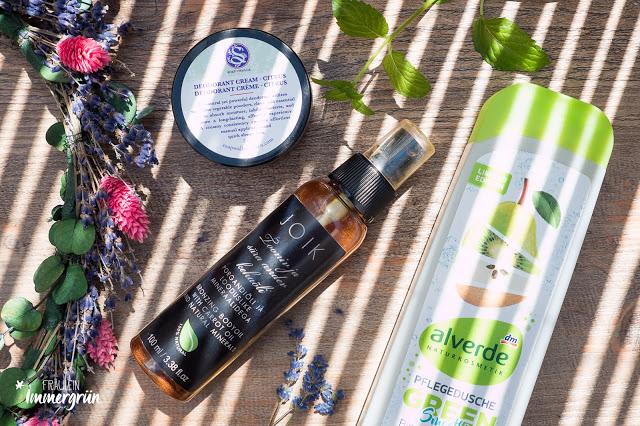 Quartalsfavoriten Naturkosmetik Dusche und Hautpflege