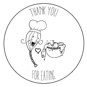 Thank you for eating