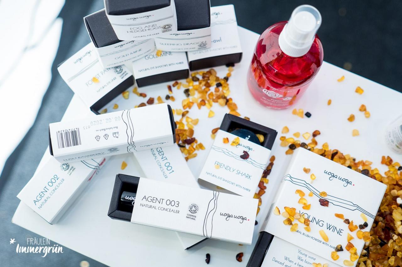 Vivaness, Uoga Uoga neue Produkte: Lippenstift, Highlighter, Mascara, Concealer