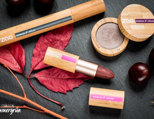 Zao – natürliches Makeup, vegan
