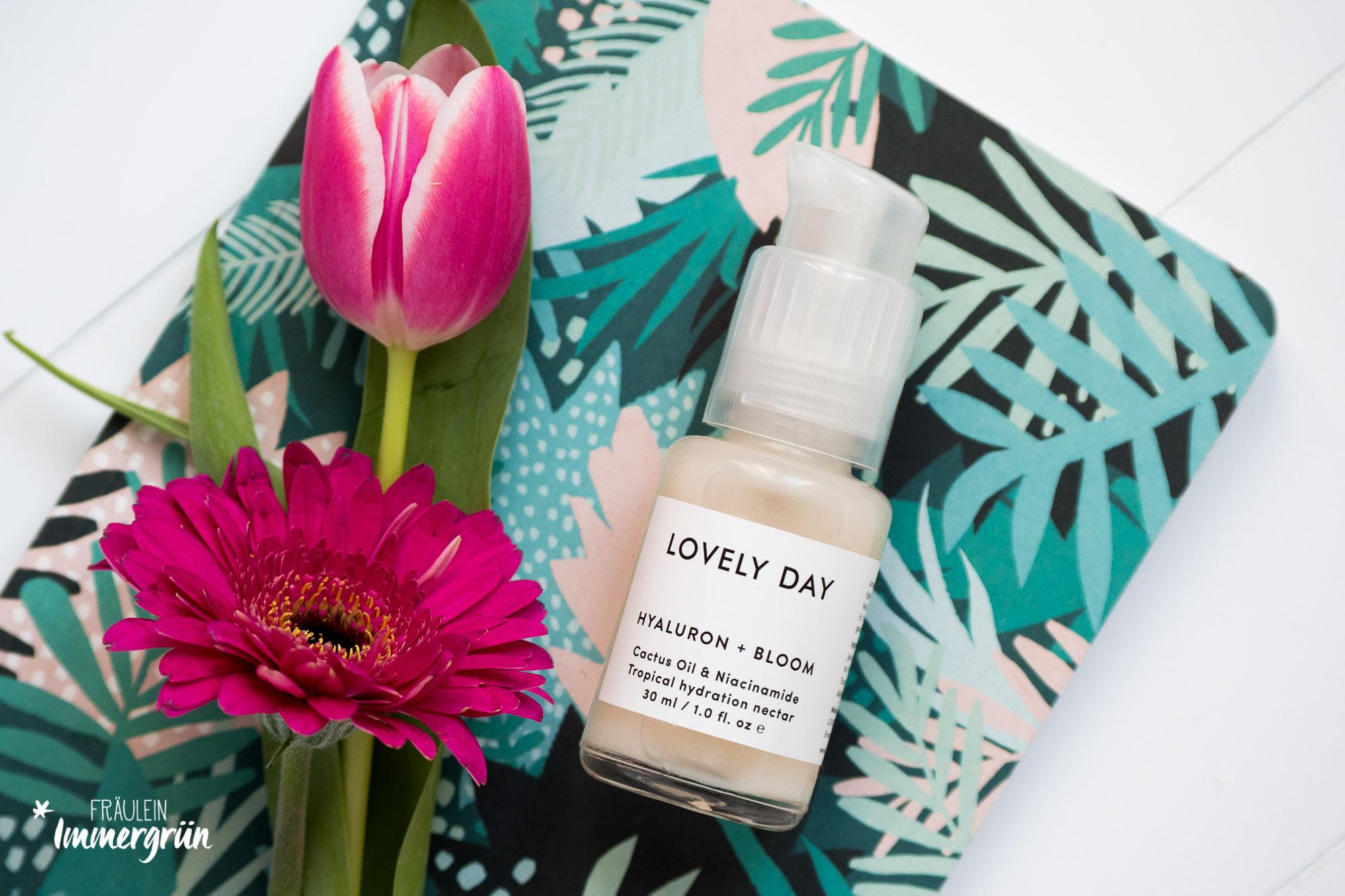 Naturkosmetik für sensible Haut: Glow und Feuchtigkeit mit Lovely Day Botanicals | Hyaluron + Bloom Tropical Hydration Nectar