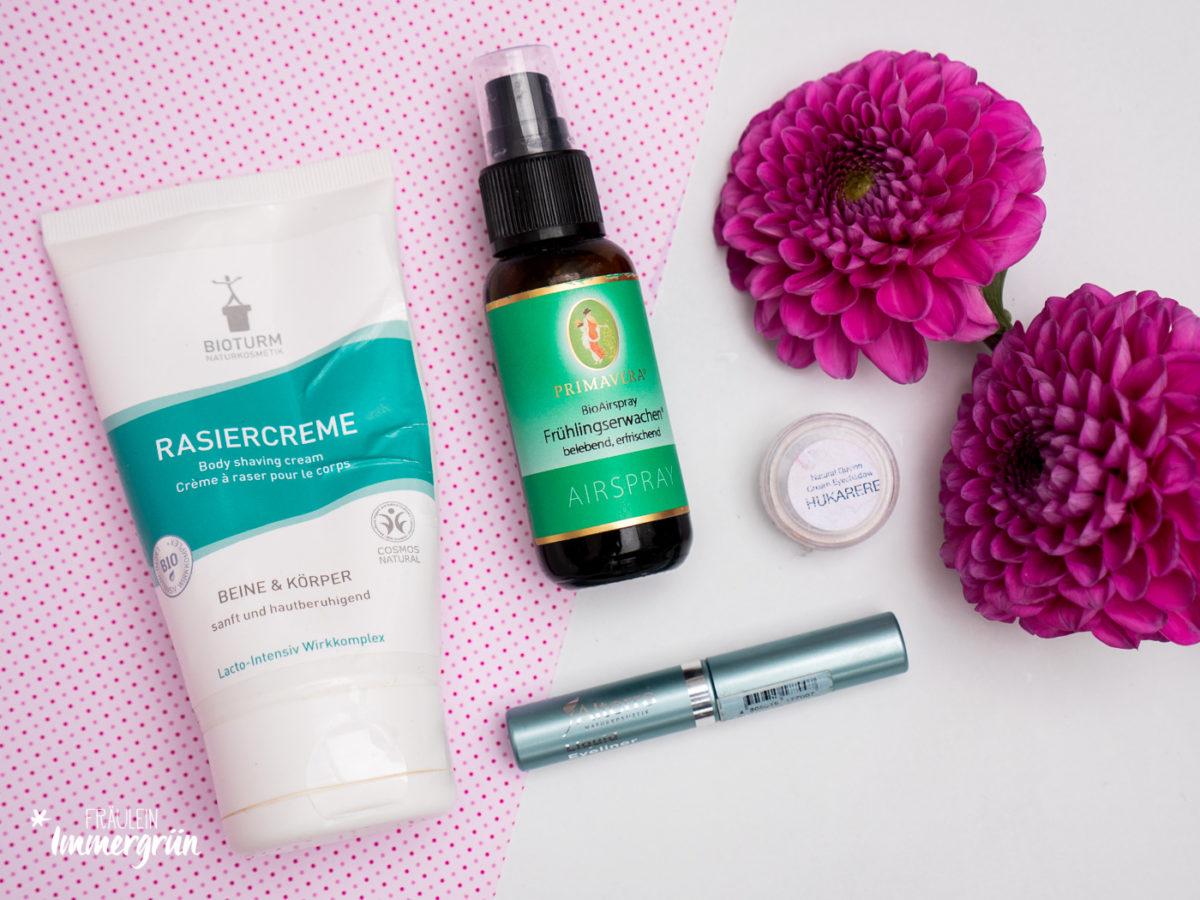 Aufgebrauchte Naturkosmetik | Körperpflege und Makeup