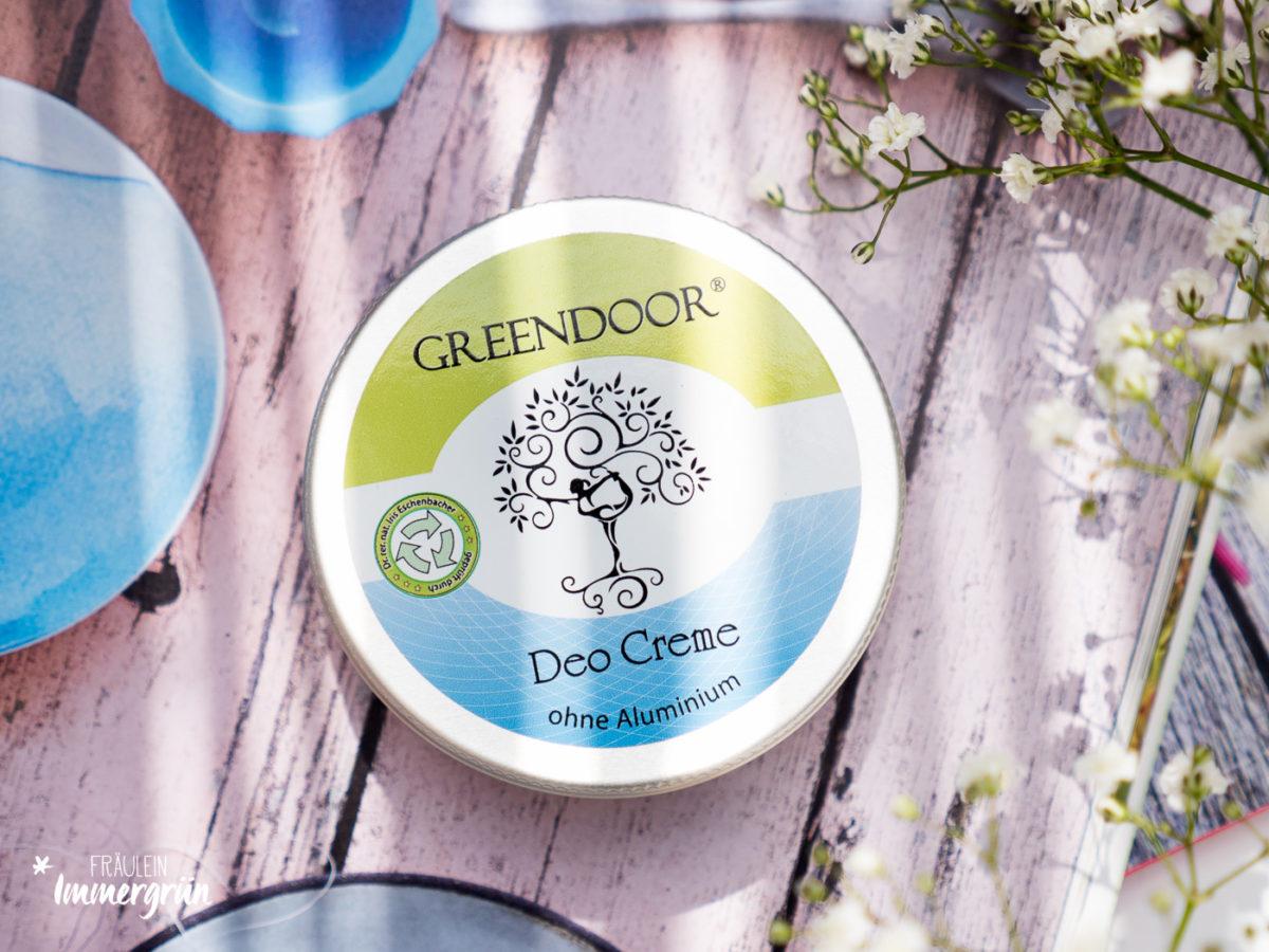 Greendoor Deocreme – Naturkosmetik Deo Vergleich