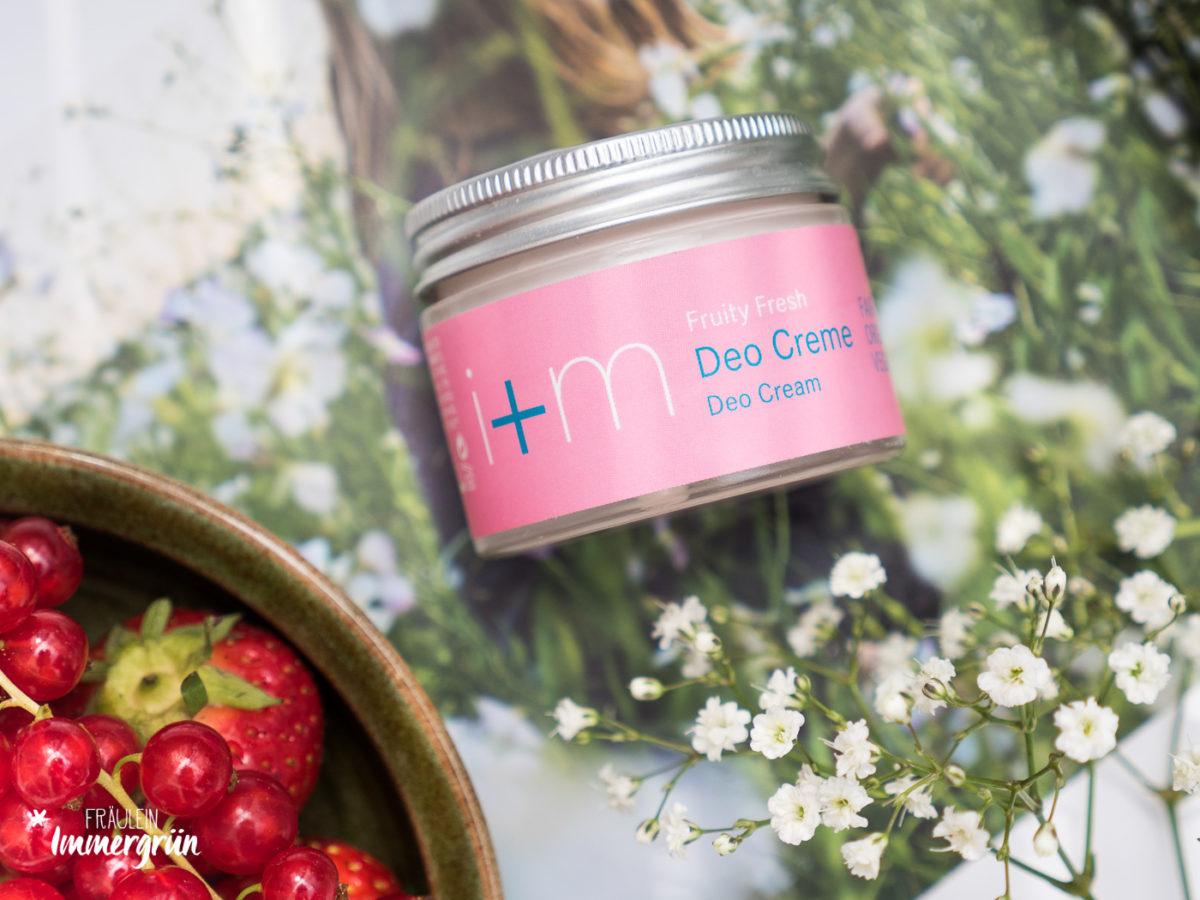 I+M Deocreme Fruity Fresh – Naturkosmetik Deo Vergleich