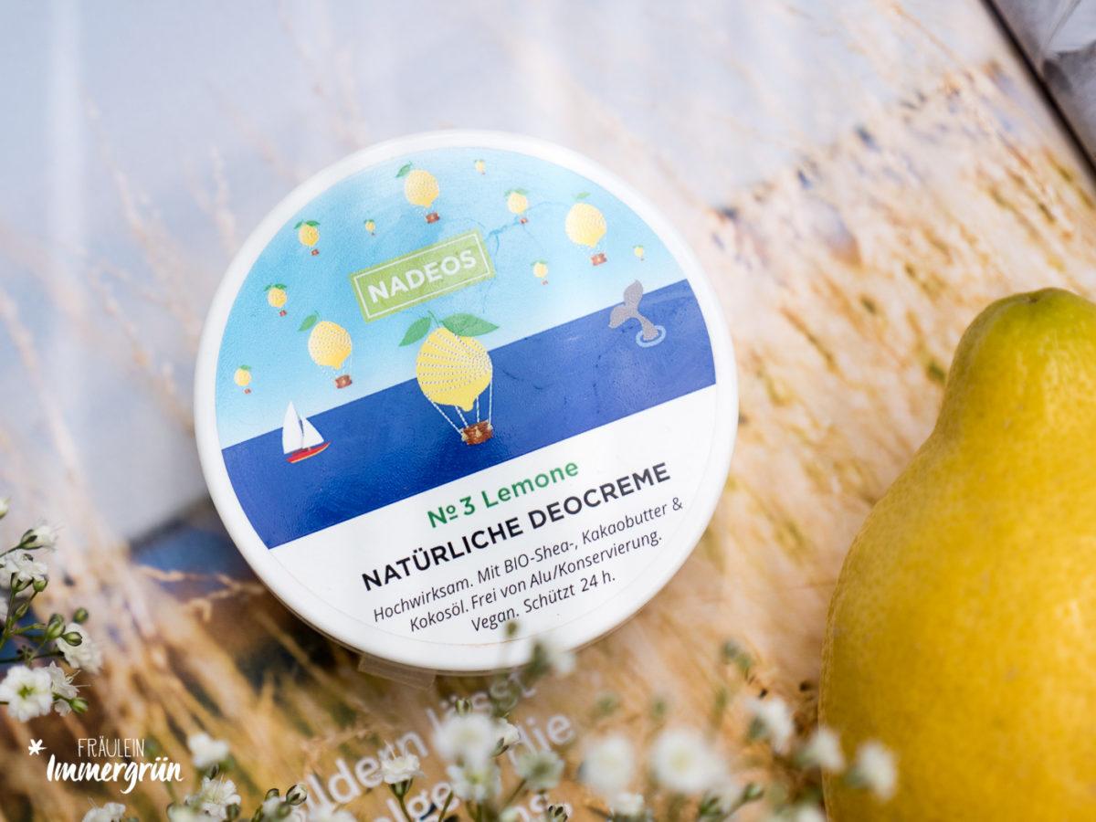 Nadeos Deocreme Lemone – Naturkosmetik Deo Vergleich