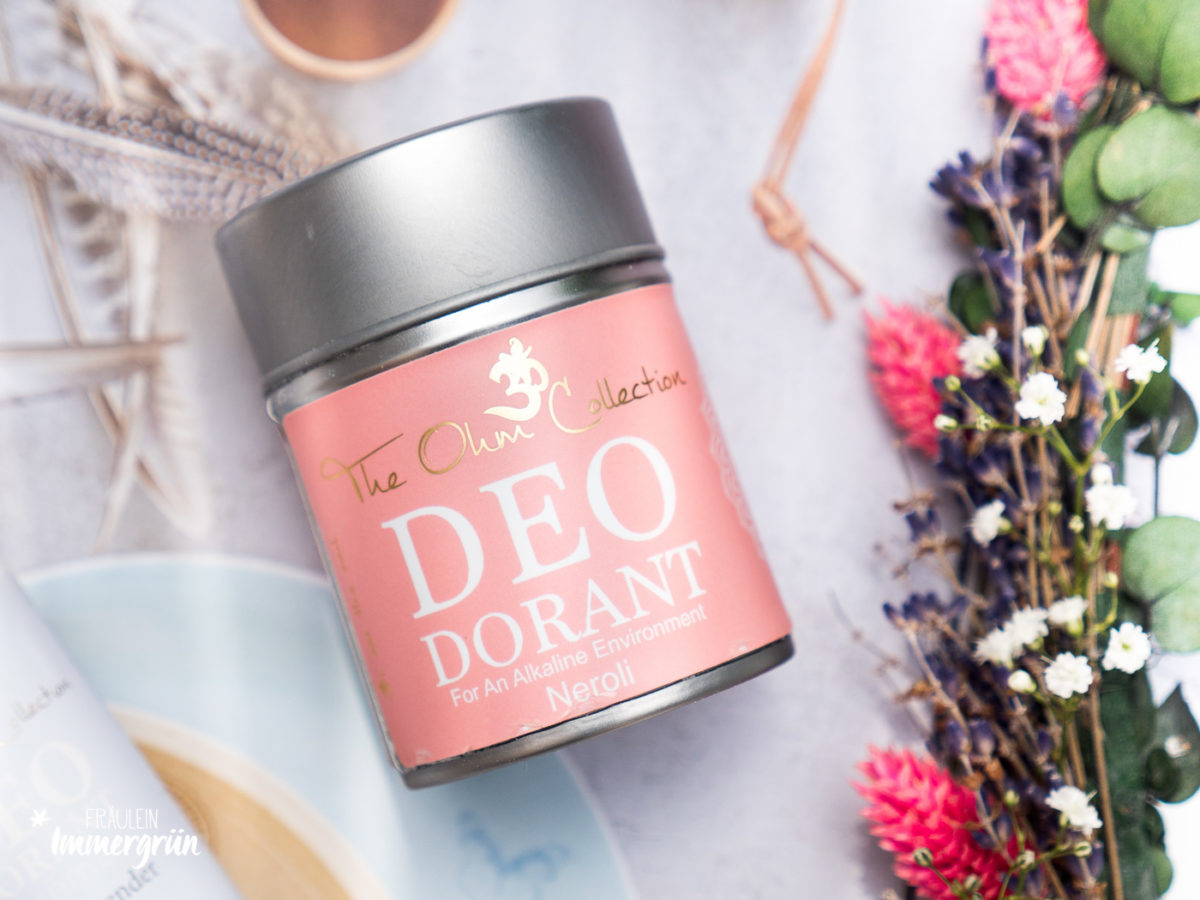 The Ohm Collection Deo Dorant Powder Neroli – Naturkosmetik Deo Vergleich