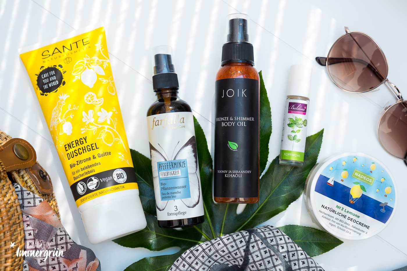 Naturkosmetik Favoriten im Sommer