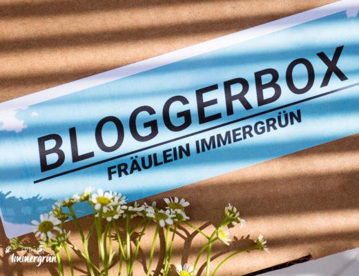 Naturkosmetik Box Bloggerbox Fräulein Immergrün bei Diesen Samstag