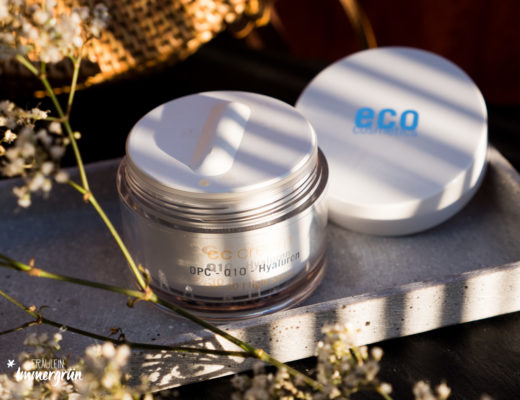 Eco Cosmetics CC Cream mit SPF 30 in Light Toned mit OPC, Q10 und Hyaluron