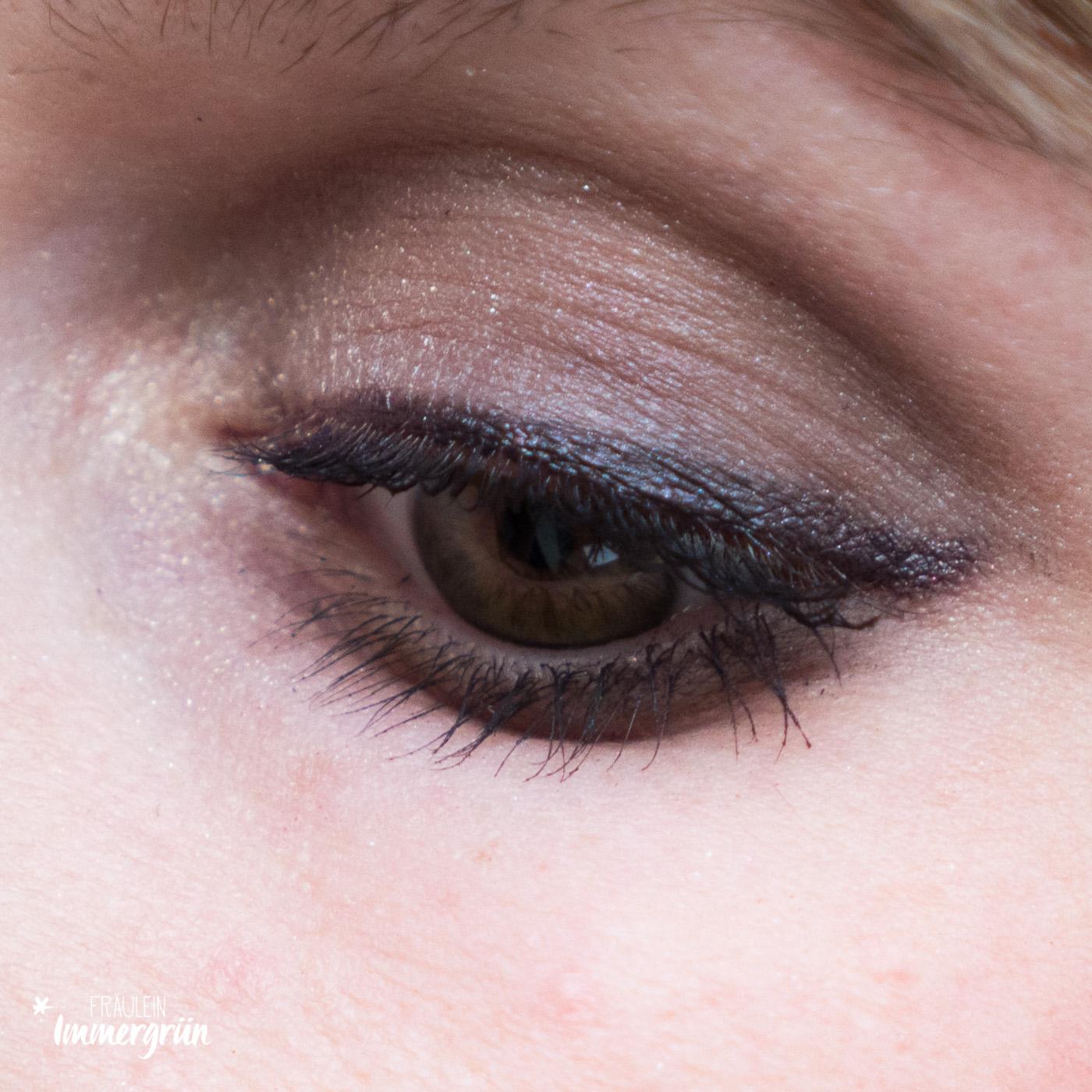 DM Alverde Neuigkeiten Herbst 2018 - vegane Naturkosmetik aus der Drogerie Lidschatten Quattro Expressive Eyes